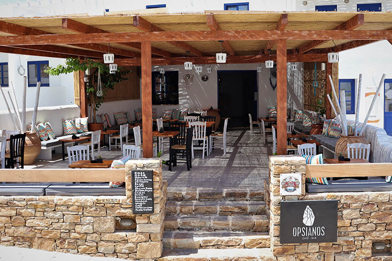 Opsianos Cafe Bar Koufonisia
